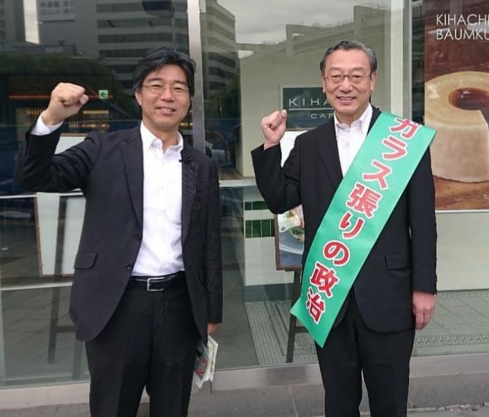 スタッフブログ【朝の駅頭~千葉駅~】