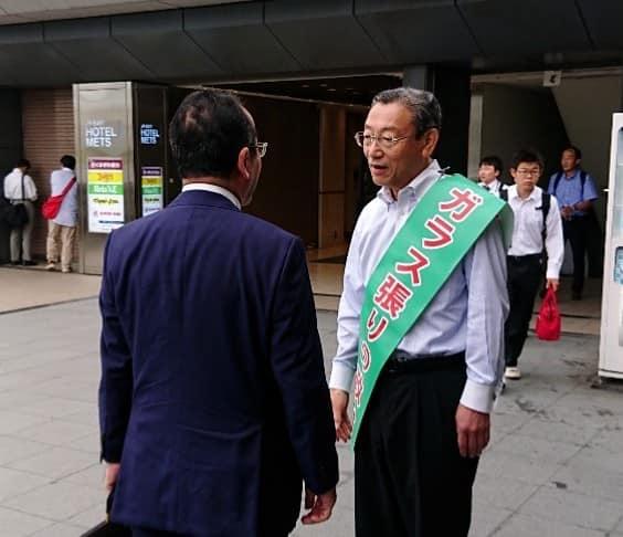 スタッフブログ【朝の駅頭~津田沼駅~】