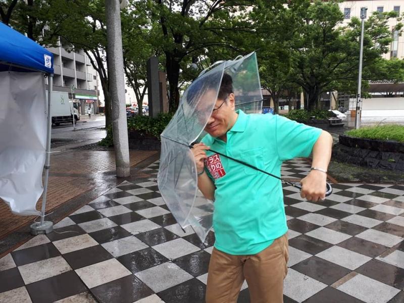 スタッフブログ【参院選スタート1日目】