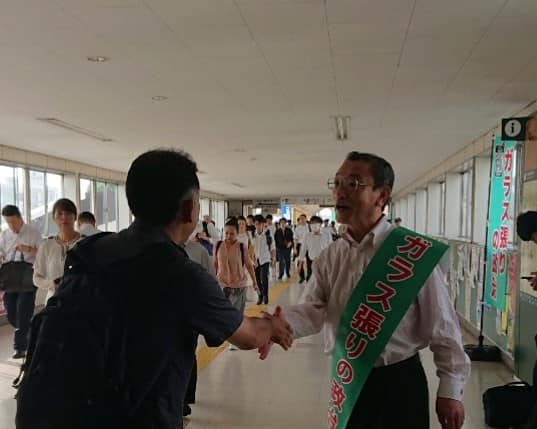スタッフブログ【朝の駅頭~五井~】