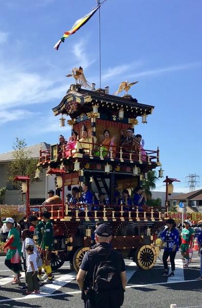 市原市の国府祭り